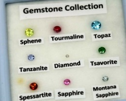 MIX GEM STONES DISPLAY BOX RNG-283