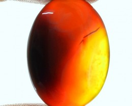 Genuine 52.55 Cts Brown Onyx Oval Shaped Cab