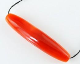 Genuine 90.75 Cts Orange Carnelian Drilled Beads