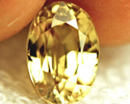 5.55 Carat Golden Yellow VVS Zircon - Gorgeous