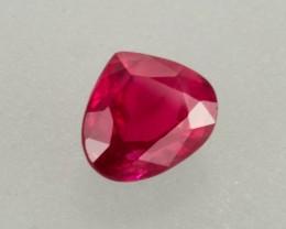1.20ct Ruby Pear Cut