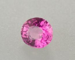 0.76ct Intense Pink Sapphire Oval