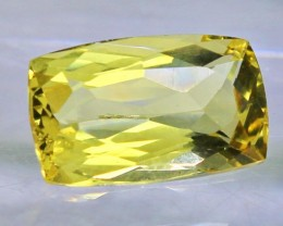 Wow~3.55 CT Natural & Beautiful Yellow beryl gemstone
