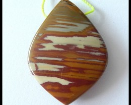 Owyhee Jasper Pendant Bead Lucky Pendant,45cts