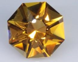 7.1 CT HONEY YELLOW/GOLD QUARTZ - MASTER CUT!  VVS!