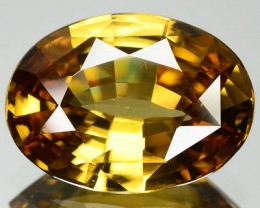 SPARKLE 7.65 Cts Natural Earth Mined Yellow Zircon Oval