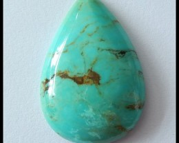 26cts Beautiful Water Drop Turquoise Gemstone Cabochon