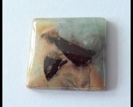 31.5Cts Natural Amazonite Gemstone Cabochon