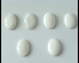 Natural Shell Cabochons Parcel,6 PCS