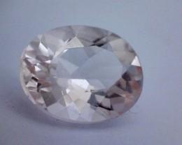 1.35ct Sparkling Pale Peach Morganite, VVS A233