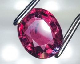 1.21 Carat Oval Cut Near Rubellite Tourmaline