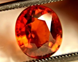 CERTIFIED - 2.70 Carat VS Orange Spessartite Garnet