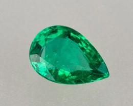 1.13ct Emerald Pear Shape