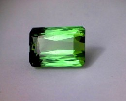 3.04ct Bright Neon Green Tourmaline, Nigeria - VVS BB33