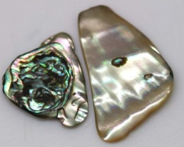 6.45 CTS ABALONE SHELL PARCEL (3PCS) ADG-1179