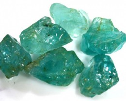 34.40 CTS APATITE ROUGH - UNTREATED RG-1653