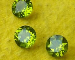 6.45 Cts.Magnificient 8.10MM Top Sparkling Intense Green Peridot GEM