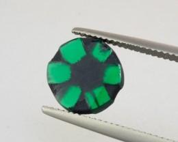 1.92ct Trapiche Emerald