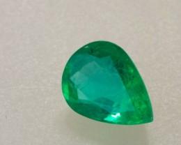 1.77ct Pear Cut Zambian Emerald