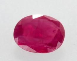 1.63ct Oval Cut Ruby