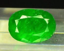 1.55 CT Untreated Green Emerald