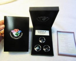 Treasures of Australian,Opals,Diamonds,Sapphire ASSA100