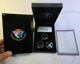 Treasures of Australian,Opals,Diamonds,Sapphire ASSA102