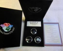 Treasures of Australa,Opals,Diamonds,Sapphire ASSA104