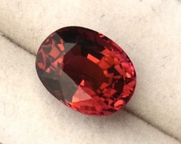 3.34 Carat Very Nice Oval Cut Pink Tourmaline