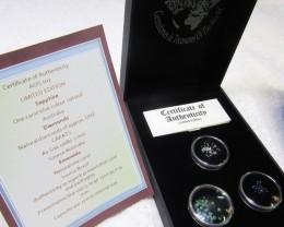 Treasures of the world ,Sapphire ,Diamonds,Emeralds, AOS 102