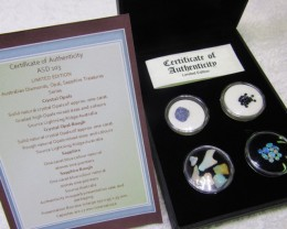 Treasures Opals and Sapphires Australian ASD103