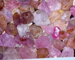 50 CTS PINK SAPPHIRE ROUGH PARCEL RG-1664