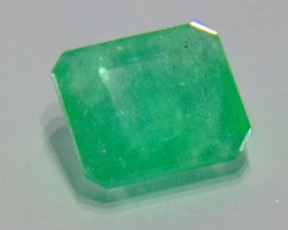 3.06cts  Natural  Emerald NATURAL green Faceted cuts