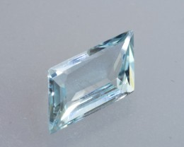 2.93ct Aquamarine Mixed Step Cut