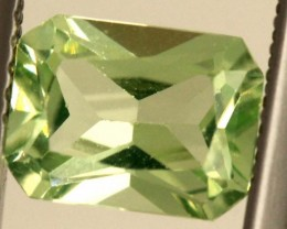 1.70 CTS PREHNITE FACETED GEMSTONE ANGC-338