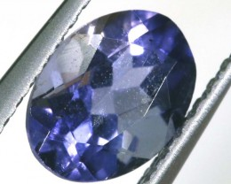 TANZANITE FACETED VIOLET BLUE 0.65 CTS RNG-311