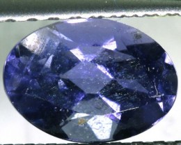 IOLITE FACETED VIOLET BLUE 0.60 CTS RNG-313