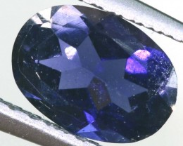 TANZANITE FACETED VIOLET BLUE 0.60 CTS RNG-316