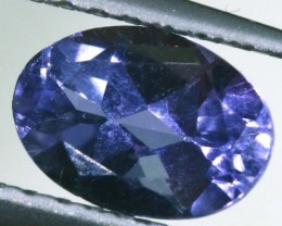 IOLITE FACETED VIOLET BLUE 0.70 CTS RNG-319