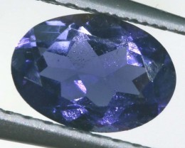 IOLITE FACETED VIOLET BLUE 0.55 CTS RNG-322