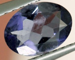 TANZANITE FACETED VIOLET BLUE 0.55 CTS RNG-325