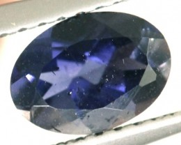 TANZANITE FACETED VIOLET BLUE 0.70 CTS RNG-326