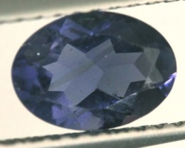 TANZANITE FACETED VIOLET BLUE 0.65 CTS RNG-327
