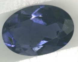 TANZANITE FACETED VIOLET BLUE 0.60 CTS RNG-330