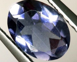 TANZANITE FACETED VIOLET BLUE 0.50 CTS RNG-334