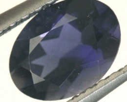 TANZANITE FACETED VIOLET BLUE 0.65 CTS RNG-336