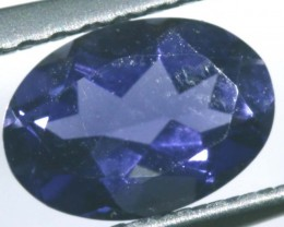 TANZANITE FACETED VIOLET BLUE 0.65 CTS RNG-338