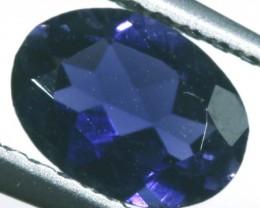 IOLITE FACETED VIOLET BLUE 0.55 CTS RNG-340