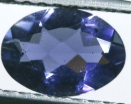 IOLITE FACETED VIOLET BLUE 0.50 CTS RNG-341