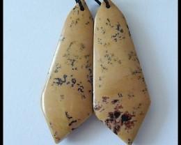 38.5 ct Natural Chohua Jasper Earring Beads